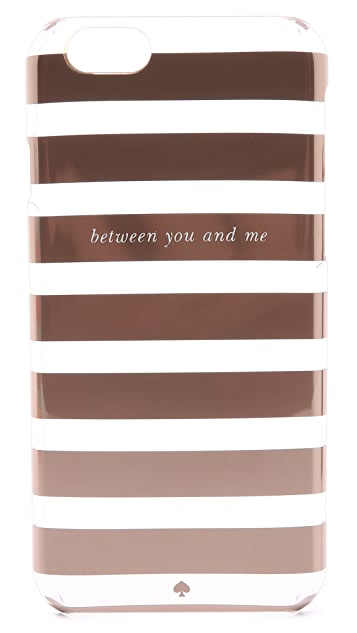 Kate Spade New York Between You & Me Clear iPhone 6 & iPhone 6s Case