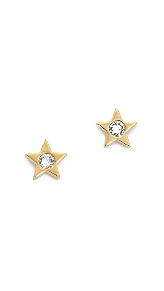 Kate Spade New York Dainty Sparkler Star Stud Earrings