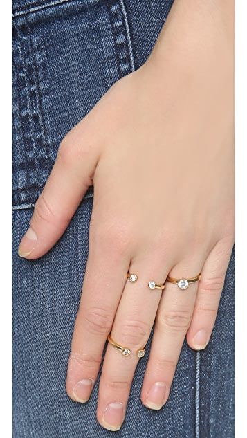 Kate Spade New York Rise & Shine Stackable Rings