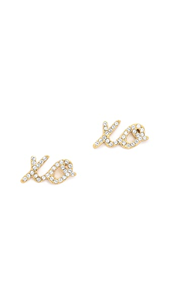 Kate Spade New York XO Stud Earrings