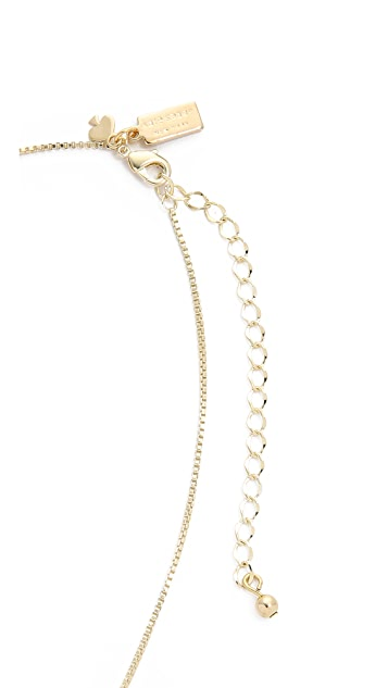 Kate Spade New York Smitten Emoji Pendant Necklace