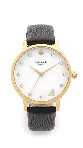 kate spade monogram watch