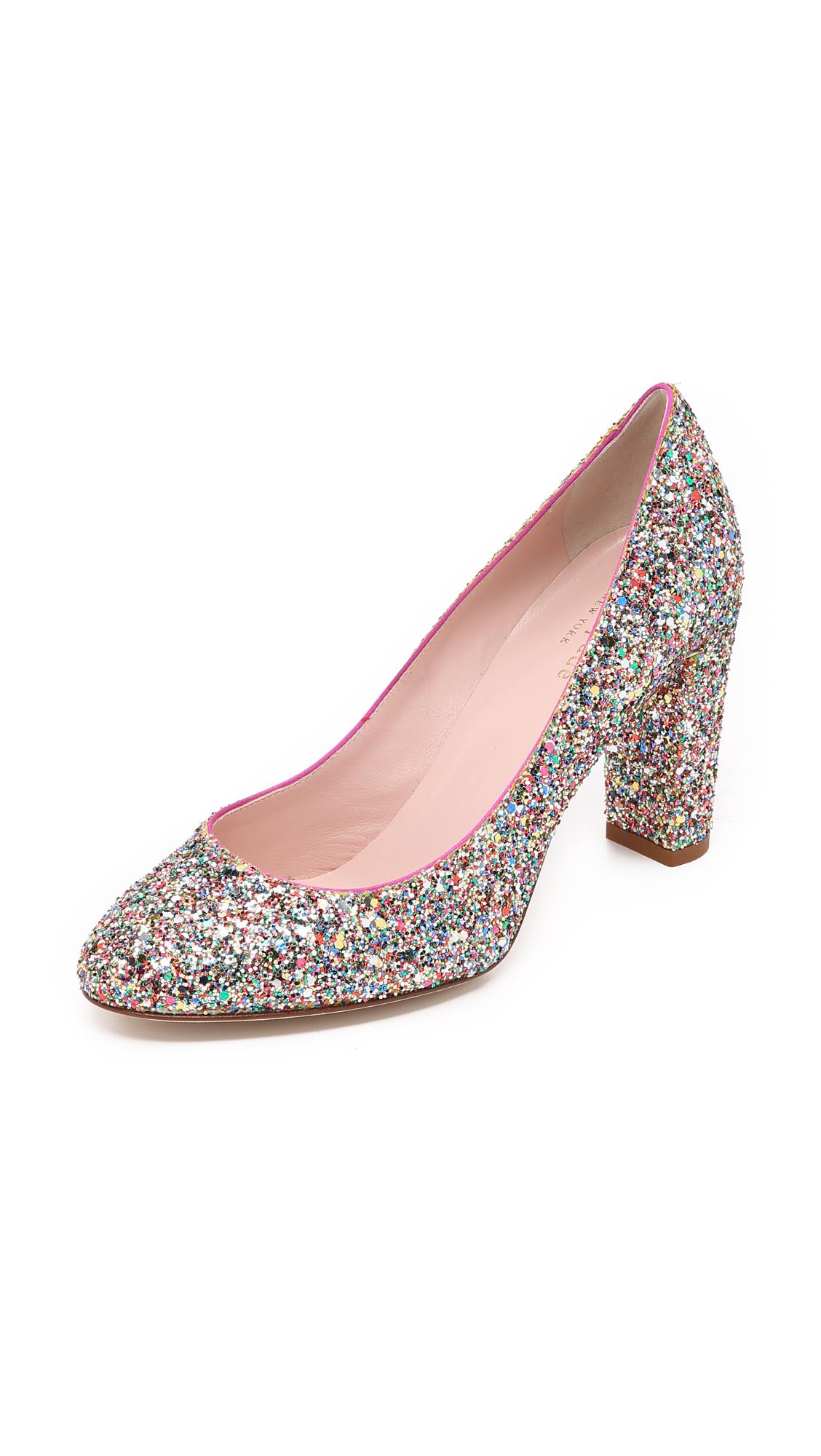 Kate Spade New York Dani Too Glitter Pumps