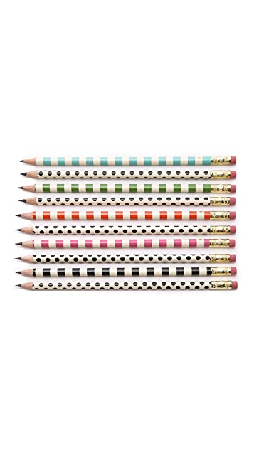 Kate Spade New York Dot the Is Pencil Set