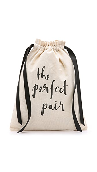 Kate Spade New York The Perfect Pair Travel Shoe Bag