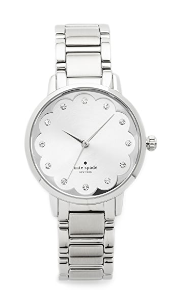 Kate Spade New York Gramercy Watch - Silver at Shopbop