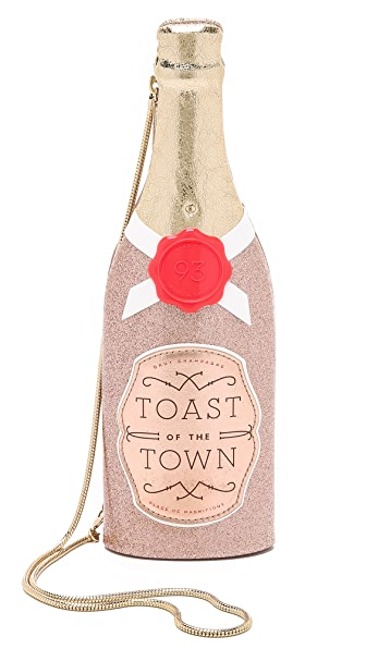 Kate Spade New York Champagne Bottle Clutch