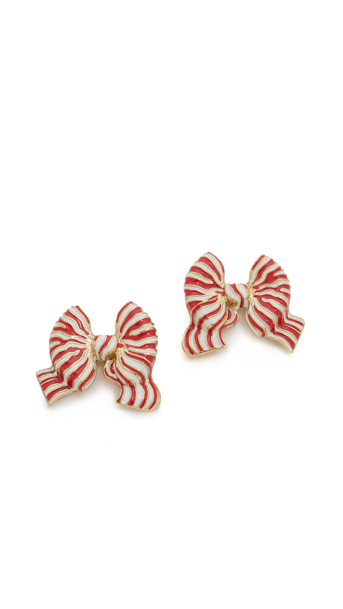 Kate Spade New York Out Of The Loop Bow Statement Studs Earrings ...