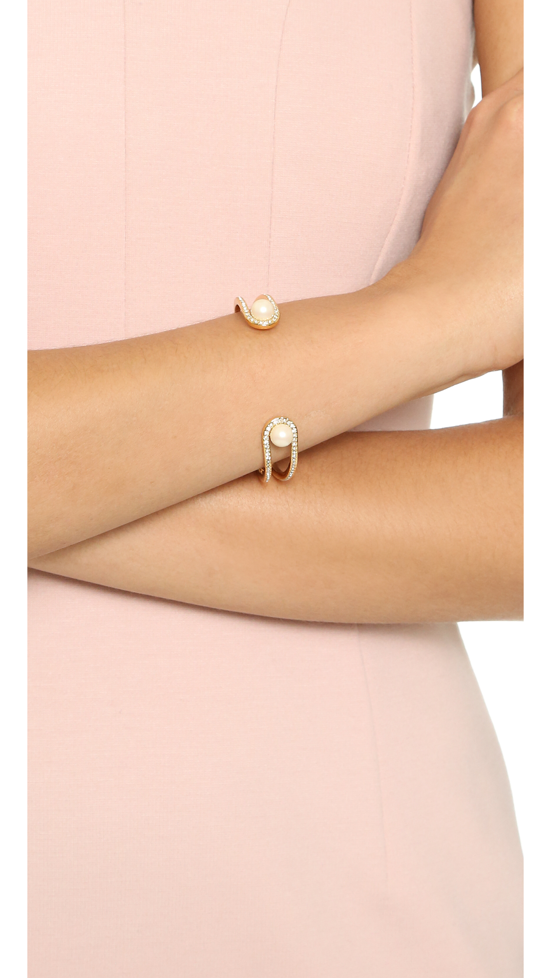 Kate Spade New York Purely Pearly Cuff Bracelet | SHOPBOP