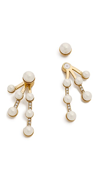 Kate Spade New York Purely Pearly Ear Jackets