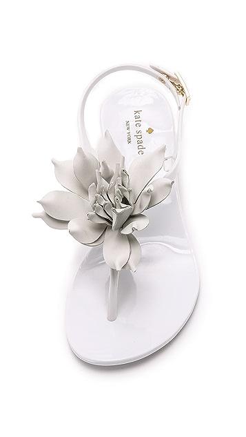 Kate Spade New York Davina Flower Jelly Sandals