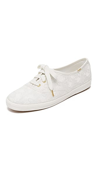Kate Spade New York Keds for Kate Spade Kick Embroidered Sneakers