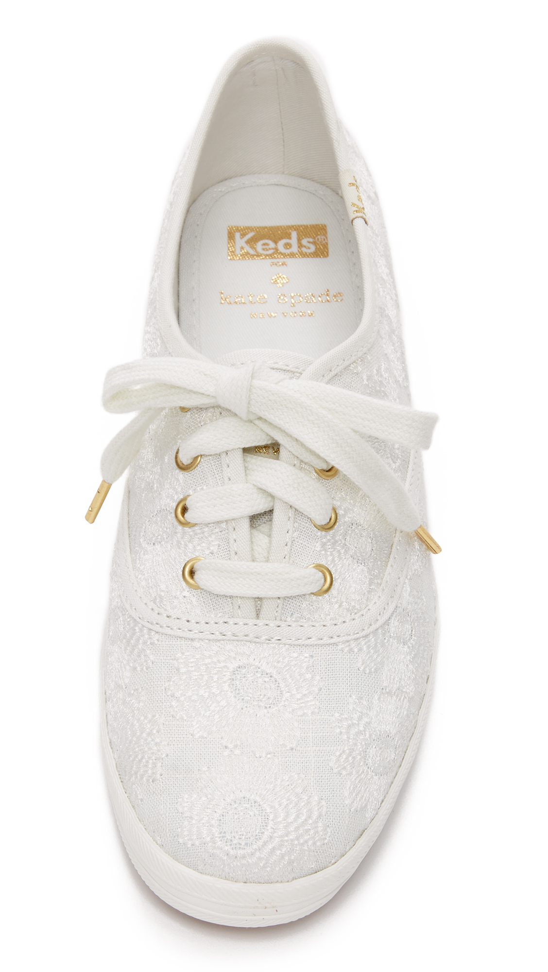 6f6cf1eb0ee0 Kate Spade New York Keds for Kate Spade Kick Embroidered Sneakers ...