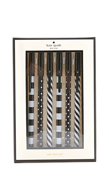 Kate Spade New York Top of the Line Pen Set