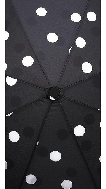Kate Spade New York Dots Travel Umbrella