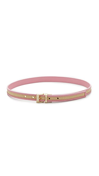 Kate Spade New York Thin Stripe Belt