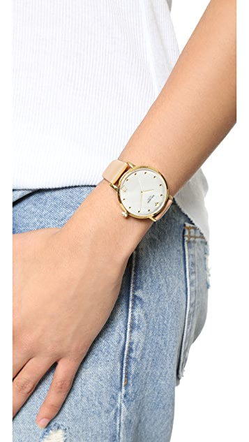 Kate Spade New York Metro Monogram Watch