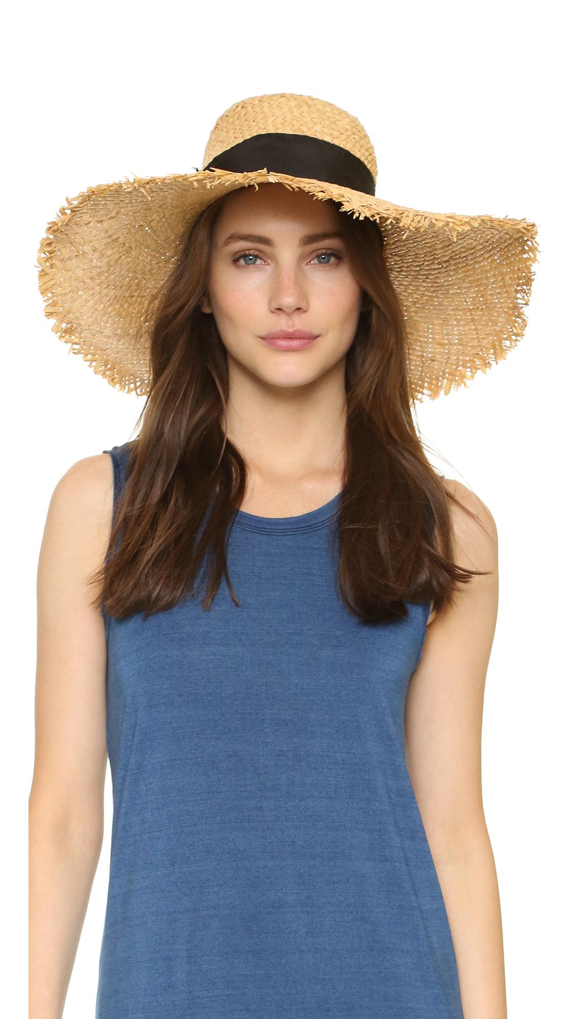Kate Spade New York Raffia Sun Hat on PopScreen 6fd8f7f7465