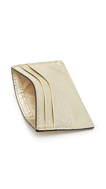 Kate Spade New York Glitter Bug Card Holder