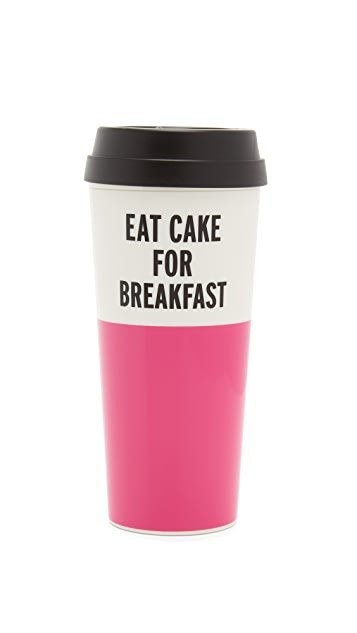 Kate Spade New York Eat Cake For Breakfast Thermal Mug