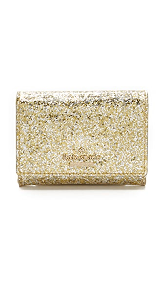 Kate Spade New York Glitter Bug Darla Wallet
