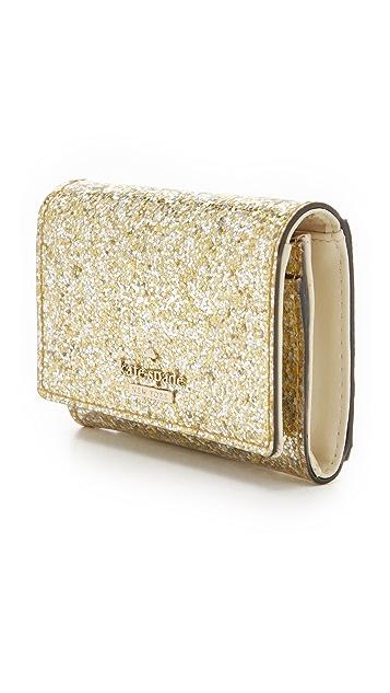 Kate Spade New York Glitter Bug Darla Wallet