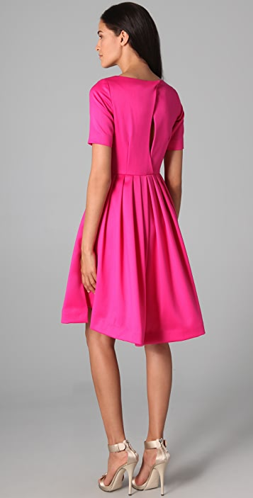 Katie Ermilio Double Pintuck Dress