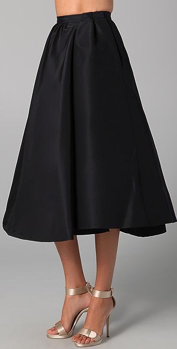 Katie Ermilio Double Swing Skirt