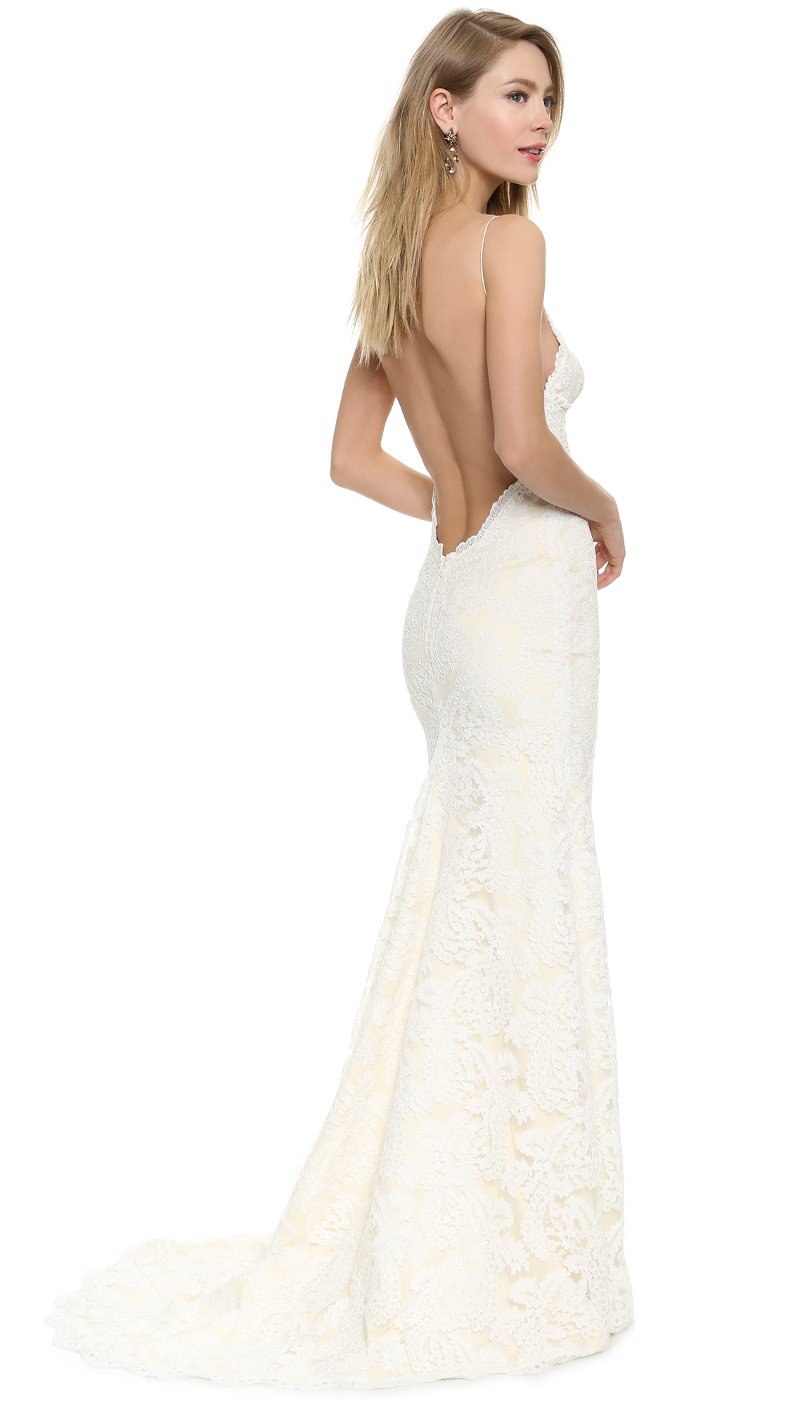 Katie May Poipu Low Back Gown | SHOPBOP