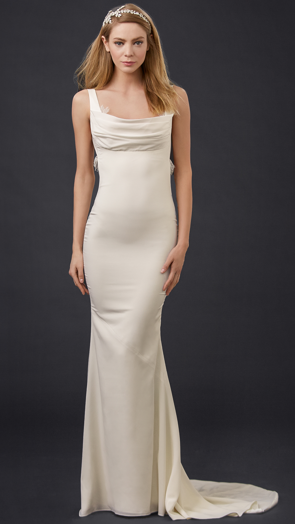 Katie May Barcelona Low Back Gown | SHOPBOP