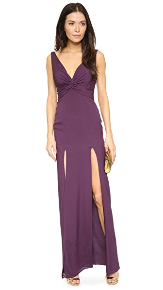 Katie May Charlize Gown - Plum