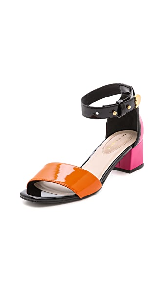 Kat Maconie London Phoebe Patent Sandals