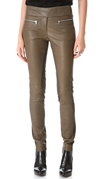 KAUFMANFRANCO Leather & Wool Pants