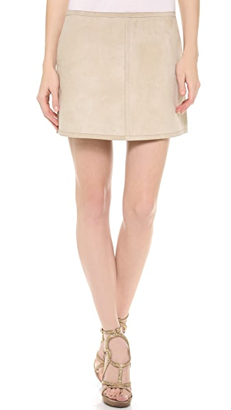 KAUFMANFRANCO Reversible A Line Skirt
