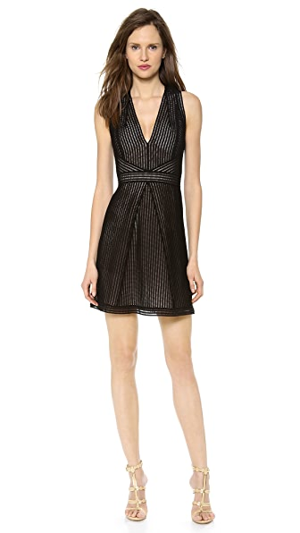 KAUFMANFRANCO Sleeveless Lace Dress