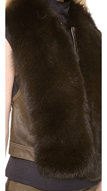 KAUFMANFRANCO Fox Fur Vest