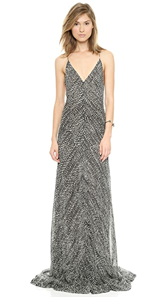 KAUFMANFRANCO Vintage Herringbone Dress