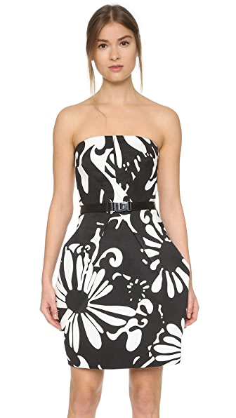 KAUFMANFRANCO Strapless Dress