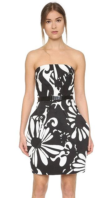 KAUFMANFRANCO Strapless Dress