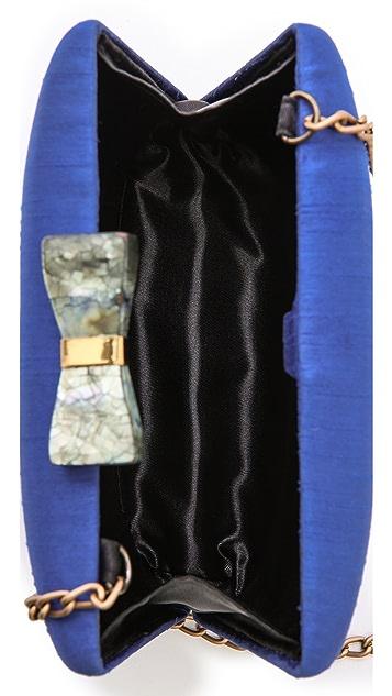 Kayu Annie Satin Clutch