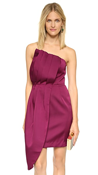 Keepsake Soul Surrender Dress - Red Plum