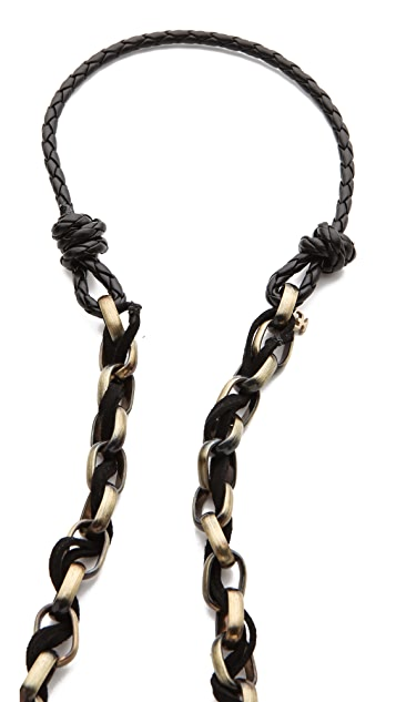 Kelacala Q Black Adder Necklace