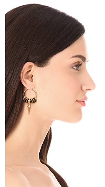 Kelacala Q Bullseye Earrings