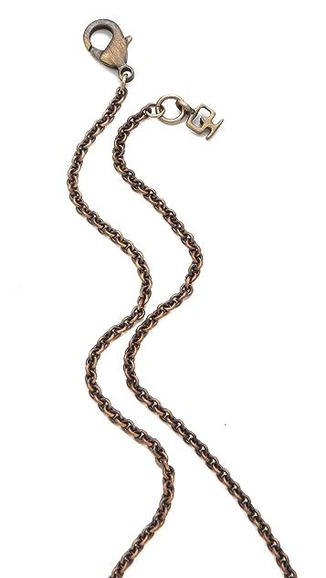 Kelacala Q Javelin Pendant Necklace