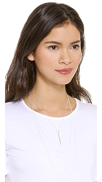Kristen Elspeth Layered Monolith Necklace