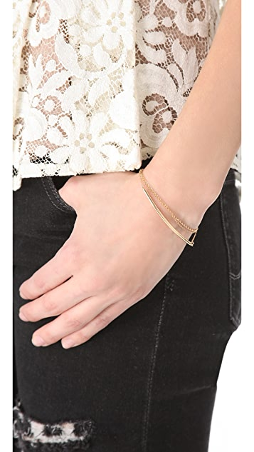 Kristen Elspeth Layered Arc Bracelet