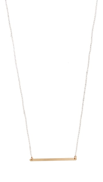 Kristen Elspeth Monolith ID Necklace
