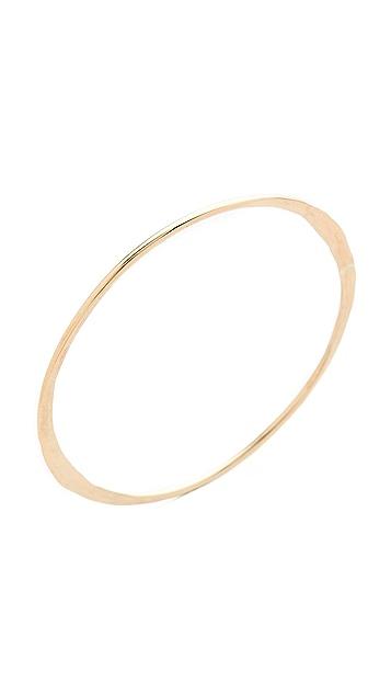 Kristen Elspeth Crescent Circle Bangle Bracelet