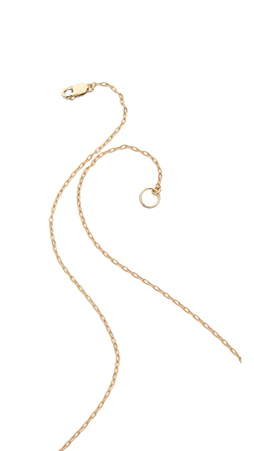Kristen Elspeth Medium E / W Bar Necklace