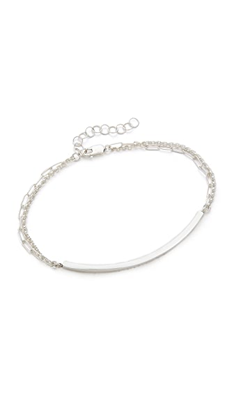 Kristen Elspeth Curved Bar Bracelet